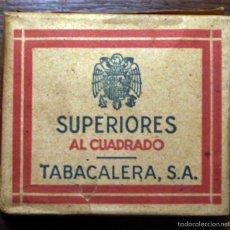 Paquetes de tabaco: PAQUETE DE TABACO DE LA POSTGUERRA CIVIL.. Lote 57284559