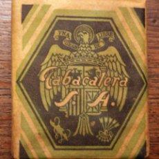 Paquetes de tabaco: PAQUETE DE TABACO POSTGUERRA CIVIL ESPAŃOLA. Lote 57284603