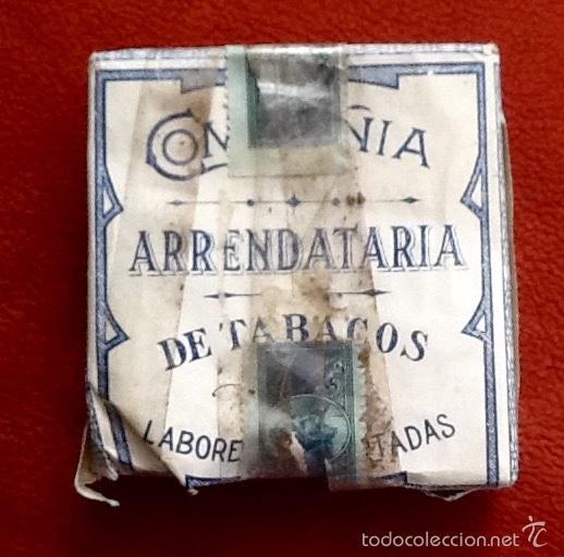 COMPAÑIA ARRENDATARIA DE TABACOS. CUBA. CON PRECINTO.ENVIO CERTIFICADO INCLUIDO. (Coleccionismo - Objetos para Fumar - Paquetes de tabaco)