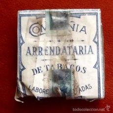 Paquetes de tabaco: COMPAÑIA ARRENDATARIA DE TABACOS. CUBA. CON PRECINTO.ENVIO CERTIFICADO INCLUIDO.. Lote 57473295