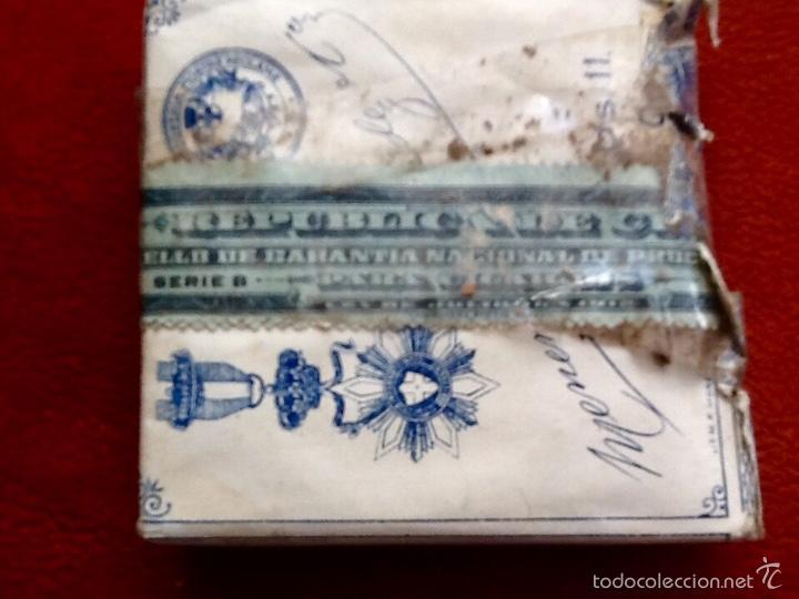 Paquetes de tabaco: COMPAÑIA ARRENDATARIA DE TABACOS. CUBA. CON PRECINTO.ENVIO CERTIFICADO INCLUIDO. - Foto 3 - 57473295