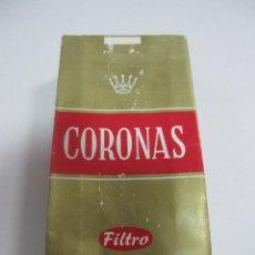 Paquetes de tabaco: PAQUETE DE TABACO. VACIO. CORONAS. FILTRO. Lote 57526046