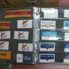 Paquetes de tabaco: COLECCION DE 260 RECORTES DE CARTONES DE TABACO. TODOS DIFERENTES + 30 REPETIDOS.. Lote 57640994