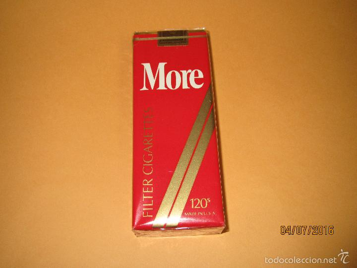Antiguo paquete de tabaco cigarrillos * more * - Vendido en Venta Directa -  58437584