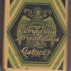 Paquetes de tabaco: ANTIGUO PAQUETE DE TABACO DE LA COMPAÑIA ARRENDATARIA DE TABACOS 25 GRAMOS (NUEVO CON TABACO). Lote 57971210