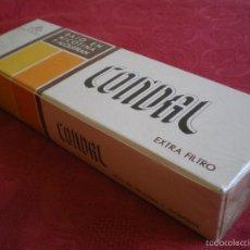 Paquetes de tabaco: CONDAL. CARTÓN DE 10 CAJETILLAS. PERFECTO, PRECINTADO.. Lote 58337249
