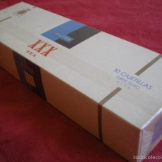 Paquetes de tabaco: XXX REX. CARTÓN DE 10 CAJETILLAS. PERFECTO, PRECINTADO.. Lote 58337288