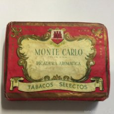 Paquetes de tabaco: TABACO PICADURA GRANULADA MONTE CARLO. Lote 58663311