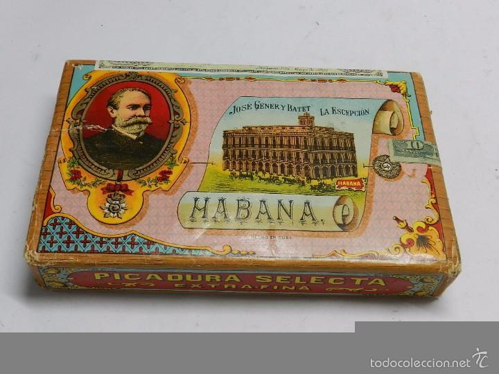 Paquetes de tabaco: ANTIGUO PAQUETE DE PICADURA SELECTA, TABACO - LA ESCEPCION, FABRICA DE TABACOS, CIGARROS Y PAQUETES - Foto 2 - 58732353
