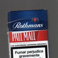 Paquetes de tabaco: CAJETILLA VACÍA DE ROTHMANS OF LONDON PALL MALL. Lote 59767128