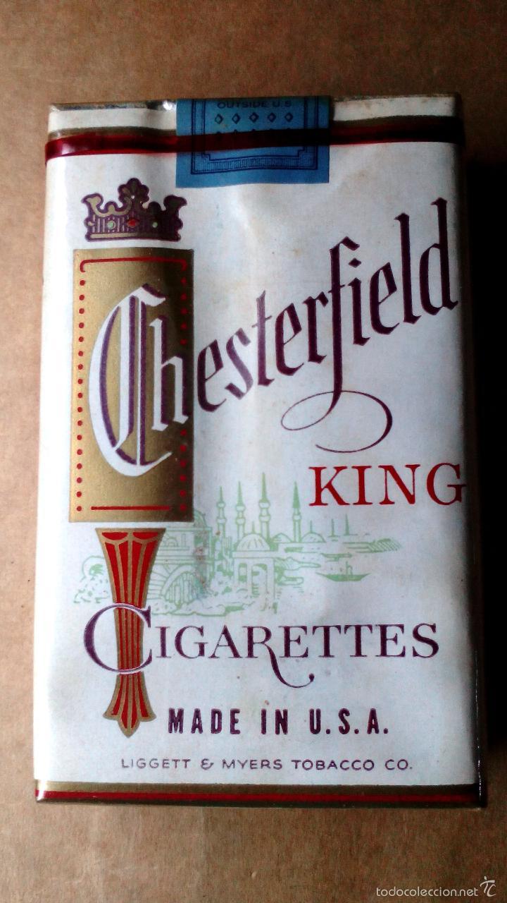 1 Antigua 60s 70s Cajetilla Con Cigarrillos Sold Through Direct Sale 60082135