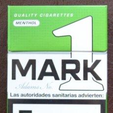 Paquetes de tabaco: MARK ADAMS NO 1 MENTHOL - CAJETILLA DE TABACO VACÍA . Lote 60198103