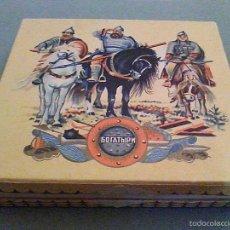 Paquetes de tabaco: RARO ANTIGUO PAQUETE TABACO URSS CIGARRILLOS RUSIA AÑOS 40 U.R.S.S. CCCP. Lote 61191763