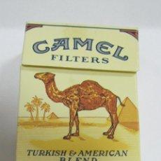 Paquetes de tabaco: PAQUETE DE TABACO VACIO. CAMEL FILTERS. TURKISH & AMERICAN. EL DE LA FOTO. Lote 61471035