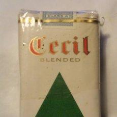 Paquetes de tabaco: PAQUETE CIGARRILLOS CECIL BLENDED (TABACO) DINAMARCA DENMARK. Lote 133259814