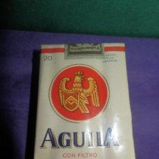 Paquetes de tabaco: ANTIGUO PAQUETE DE TABACO - CIGARRILLOS CON FILTRO - AGUILA - COMPLETO -. Lote 65015711