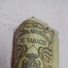 Paquetes de tabaco: COMPAÑIA ARRENDATARIA DE TABACOS - PICADO COMUN FUERTE 25 GRAMOS, ALFONSO XIII. Lote 65959338
