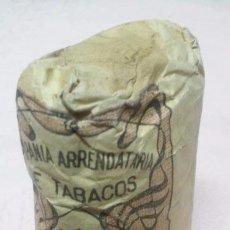 Paquetes de tabaco: COMPAÑIA ARRENDATARIA DE TABACOS - PICADO COMUN FUERTE 25 GRAMOS, ALFONSO XIII . Lote 65971994
