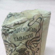 Paquetes de tabaco: COMPAÑIA ARRENDATARIA DE TABACOS - PICADO COMUN FUERTE 25 GRAMOS, ALFONSO XIII . Lote 65972182