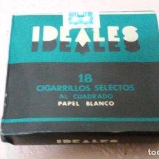 Paquetes de tabaco: TABACO IDEALES. Lote 65972714
