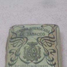 Paquetes de tabaco: COMPAÑIA ARRENDATARIA DE TABACOS - PICADO COMUN FUERTE 25 GRAMOS, ALFONSO XIII. Lote 66052102