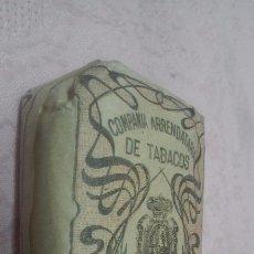 Paquetes de tabaco: COMPAÑIA ARRENDATARIA DE TABACOS - PICADO COMUN FUERTE 25 GRAMOS, ALFONSO XIII (PESO REAL UNOS 24 GR. Lote 66111334