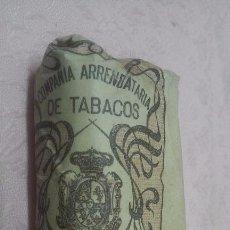Paquetes de tabaco: COMPAÑIA ARRENDATARIA DE TABACOS - PICADO COMUN FUERTE 25 GRAMOS, ALFONSO XIII. Lote 66112934