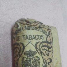 Paquetes de tabaco: COMPAÑIA ARRENDATARIA DE TABACOS - PICADO COMUN FUERTE 25 GRAMOS, ALFONSO XIII . Lote 66114222