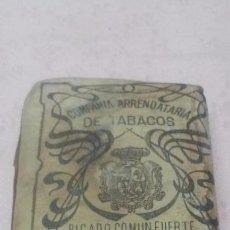 Paquetes de tabaco: COMPAÑIA ARRENDATARIA DE TABACOS - PICADO COMUN FUERTE 25 GRAMOS, ALFONSO XIII. Lote 66121070
