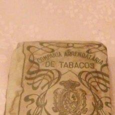 Paquetes de tabaco: COMPAÑIA ARRENDATARIA DE TABACOS - PICADO COMUN FUERTE 25 GRAMOS, ALFONSO XIII . Lote 66142878