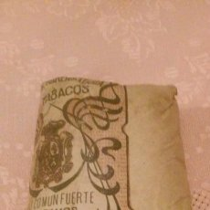 Paquetes de tabaco: COMPAÑIA ARRENDATARIA DE TABACOS - PICADO COMUN FUERTE 25 GRAMOS, ALFONSO XIII. Lote 66158342