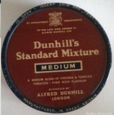 Paquetes de tabaco: LATA CAJA DUNHILL'S STANDARD MIXTURE MEDIUM TABACO. Lote 66921894