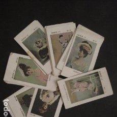 Paquetes de tabaco: ARTISTAS-SERIE 14-COLECCION 23 CROMOS ANTIGUOS PAQUETES DE TABACO - COMPLETO -VER FOTOS - (V-7632). Lote 67936269