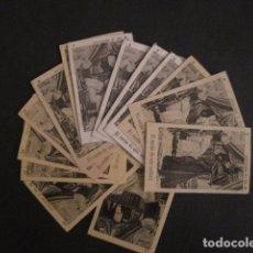 Paquetes de tabaco: EL SUEÑO DE UNA SOLTERA-COL.15 CROMOS ANTIGUOS PAQUETES TABACO-CIGARROS PESQUERA-VER FOTOS-(CR-2533). Lote 67936753