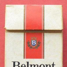 Paquetes de tabaco: BELMONT - PAQUETE DE TABACO VACÍO DE PRINCIPIOS LOS 90. Lote 69028069