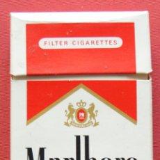 Paquetes de tabaco: MARLBORO MEDIUM - PAQUETE DE TABACO VACÍO - PRINCIPIOS S,XXI. Lote 69028229