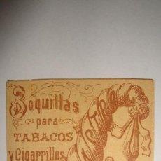 Paquetes de tabaco: TABACOS F.CASTRO. Lote 69590649
