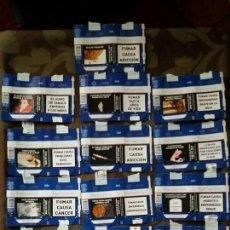 Paquetes de tabaco: 19 PAQUETES BLANDOS SOFT CIGARRILLOS PARISIENNES ETIQUETAS. Lote 72222363