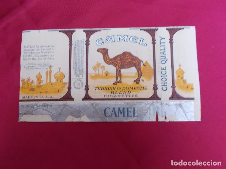 CAMEL. TURKISH & DOMESTIC BLEND . 20 CIGARETTES. MADE IN USA. (Coleccionismo - Objetos para Fumar - Paquetes de tabaco)