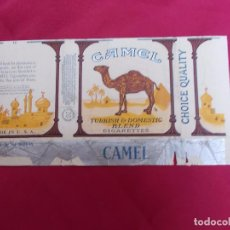 Paquetes de tabaco: CAMEL. TURKISH & DOMESTIC BLEND . 20 CIGARETTES. MADE IN USA.. Lote 72336811