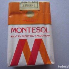 Paquetes de tabaco: MONTESOL. Lote 72833767