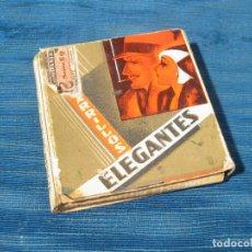 Paquetes de tabaco: PAQUETE DE TABACO DE CIGARRILLOS ELEGANTES DE LA REPUBLICA ESPAÑOLA. Lote 73083723