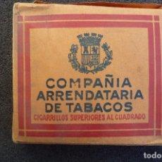 Paquetes de tabaco: (JX-170264) ANTIGUA CAJETILLA DE CIGARROS COMPAÑÍA ARRENDATARIA DE TABACOS,ESCUDO REPUBLICANO,GUERRA. Lote 75630475