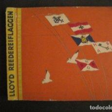 Paquetes de tabaco: ALBUM CROMOS BANDERAS -CROMOS CIGARRILLOS- COMPLETO 396 CR. - LLOYD ZIGARETTEN- VER FOTOS - (V-9140). Lote 76627659