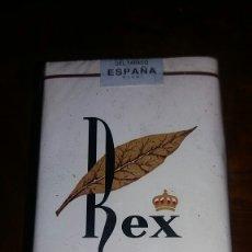 Paquetes de tabaco: REX. Lote 76776829
