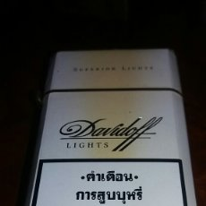 Paquetes de tabaco: DAVIDOFF LIGHTS TAILANDIA. Lote 76777426