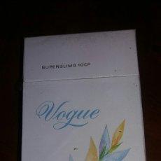 Paquetes de tabaco: VOGUE SUPERSLIMS. Lote 76778077