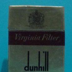 Paquetes de tabaco: PAQUETE DE TABACO VACIO DUNHILL. Lote 78503189