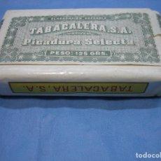 Paquetes de tabaco: ANTIGUO PAQUETE DE TABACO PICADO. PICADURA SELECTA. TABACALERA. Lote 78878225