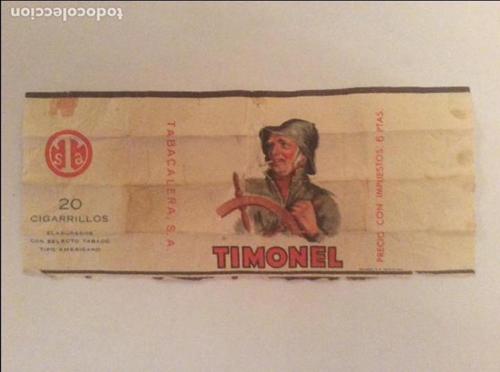 ANTIGUO PAQUETE DE TABACO MARCA TIMONEL (Coleccionismo - Objetos para Fumar - Paquetes de tabaco)
